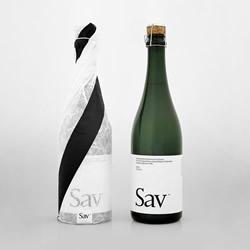 Sav™ is a unique sparkling wine made in Sweden from Birch trees. Natural, original and, being Scandinavian, packaged and branded with effortless cool.
