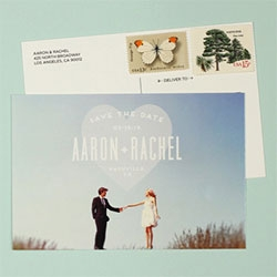 Love Vs Design collaboration with photographer, Max Wanger, leads to a beautifully new fun collection of Save the Date cards launching today!