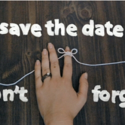 The cutest stop motion Save the Date in all the land.