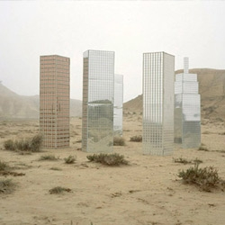 Work from artist Sema Bekirovic got us musing on the 'city in the desert' trope and how it's fallen out since the Recession.