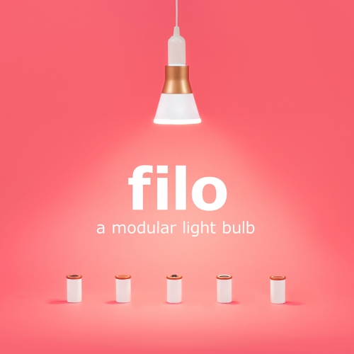 Filo is a concept for a connected light bulb that can serve as a platform for connected functionalities while maintaining a graceful obsolescence.
