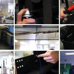 Science Nation Army. Using real footage and sounds from a working science lab, the Inside Knowledge blog team from Imperial's Blast Lab reconstructed the White Stripes song Seven Nation Army from scratch.
