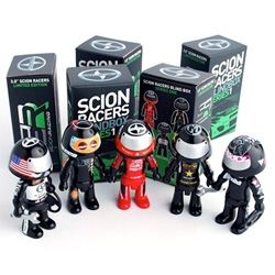 Adorable! Scion Racers S1 by Stage 3 Art Toys!