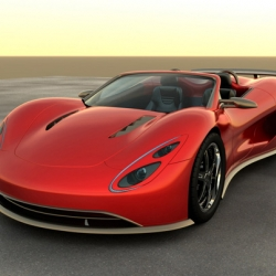 Backed by a hydrogen fuel injection system, the eco-friendly Scorpion boasts a top speed of over 200 mph