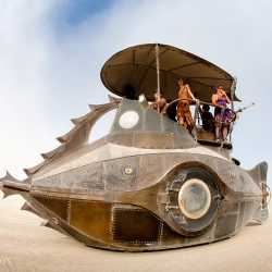 Amazing photos from Burning Man 2011 by photographer Scott London.