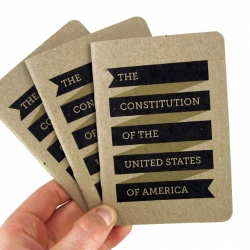 This pocket-sized edition of the United States Constitution from Scout Books is an effort to make the supreme law of our nation more accessible to everyone.