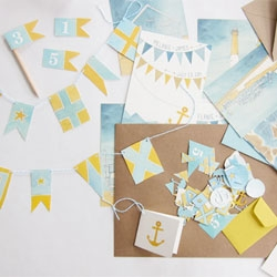 Fun pieces from Scout's Honor Co., a stationery studio based in Burlington, Vermont.