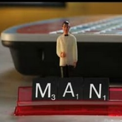 Great stop-motion by Adam Pesapane, aka PES for Scrabble