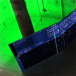 AirXY: From Inmaterial to Rematerial is an interactive installation by M-A-D at the Venice Biennale.