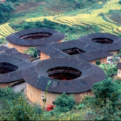 "Hakka ""apartments"" in rural China - truly amazing and inspiring!"