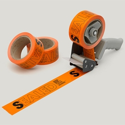 Cute tape, part of the stationery suite for Screenprint Productions, designed by The Consult.