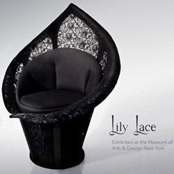 Lily Lace - Lace Chair - Designer: Dror Benshetrit