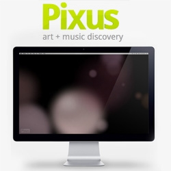 Pixus - An awesome app that creates and saves abstract wallpapers based on what song you are listening to on Pandora.