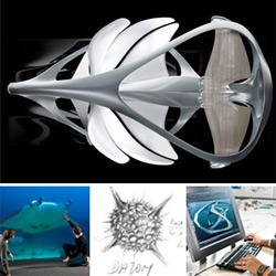 Mercedes-Benz Aesthetics No.2 launched at Detroit Auto Show ~ a gorgeous new sculpture exploring interior possibilities inspired by mantas and flowers and more...