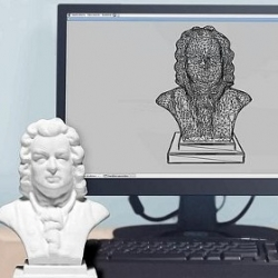 With Sculpteo's website, you can print 3D objects from digital files you created or you selected in an existing library