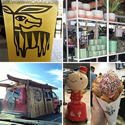 Inspiration: North Park, San Diego (Pigment! Tacos Perla, Homebrewer, Nomad Donuts + beach!) a look at the Mobi Dojo VAN, Cauldron OG Puffle Cones, Din Tai Fung soup dumplings (xiao long baos) being made and more.