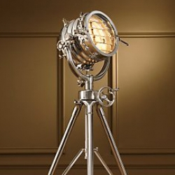 The Royal Master Sealight is a great replica of an old marine light. Beautiful, available in floor, table and pendant models at Restoration Hardware.