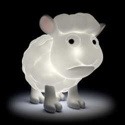 The new USB Illuminative Sheep Lamp from Mimoco.