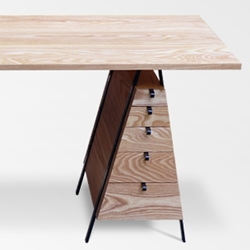 Secretariat desk by Chicago based designer Casey Lurie.