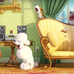 The Secret Life of Pets - animated feature from Illumination Entertainment coming summer 2016. The Trailer and Holiday Greeting are adorably hilarious!