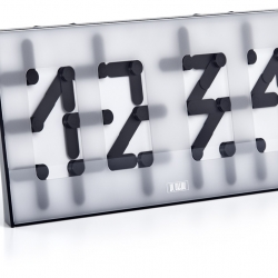 New clock by Art Lebedev.  Segmentus is digital display of numbers with clock hands, simply amazing!