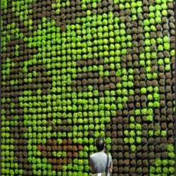 Seksan Design, a landscape architect studio based in Kuala Lumpur, Malaysia, made an interesting piece for the Singapore Garden Festival.