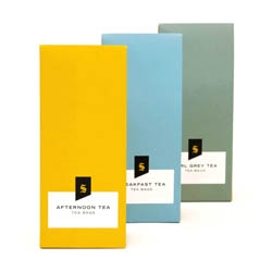 Selfridges Tea packaging by Noreen Khan.