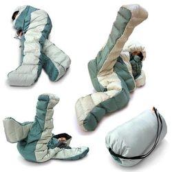 sleeping bag + teddy bear costume = selk'bag. perfect for outdoorsy sleepwalkers