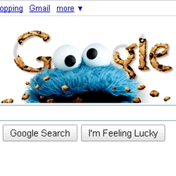 Google has themed their homepage for Sesame Street's 40th anniversary again. Are we looking at a series?