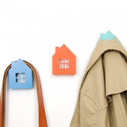 House Wall Hooks designed by Luez Design and Play.