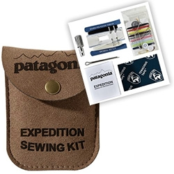 Patagonia Expedition Sewing Kit ~ complete with two piece awl machined from high-quality 7075 aluminum alloy...
