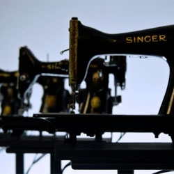 Martin Messier's sewing machine orchestra!