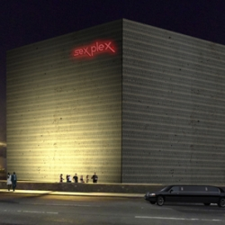 SexPlex concept by Scottish student Ruth Dowie. Could this really be the future of one-night-stands for the promiscuous urban dweller?