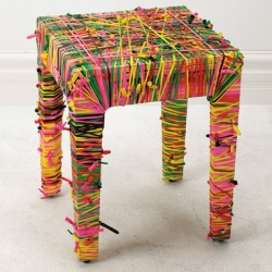 This stool makes me happy, Designer: Natalie Kruch