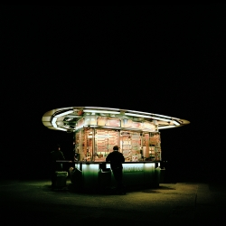 Stefan Fuertbauer's great new photo series of Viennese wurstel diners and the Viennese fast food culture.