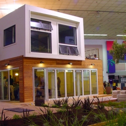 This year's West Coast Green showhouse is a stunning shipping container home by SG Blocks!