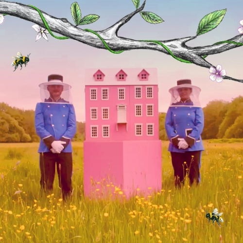 Taylors Tea have built a Bee Hotel in the style of The Grand Budapest Hotel. It highlights how solitary and city bees need our help (as well as the honeybees!) and to thank them for helping us create a world of flavour!