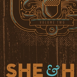 Halftone Def Studios screen prints posters for She & Him concert at Savannah Music Festival.