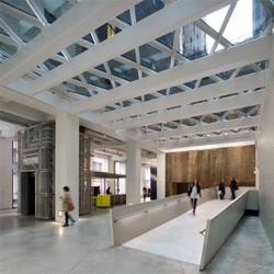 The Sheila C. Johnson Design Center adds a new 32,800sf campus nexus for Parsons The New School for Design. The project designed by  Lyn Rice Architects, integrates the new campus with the urban context of busy Manhattan.