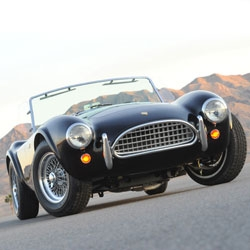 50th Anniversary Shelby Cobra, sad it sold out in hours, but that won't stop us from staring longingly at the photo gallery!