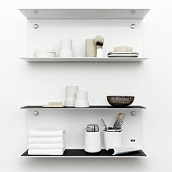 Nice minimalist new shelving from Vipp