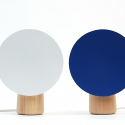 Ultra minimalist Shelf Lamp by Norwegian designer Andreas Engesvik.