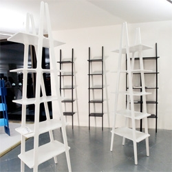 Swedese Libri ~ current obsession discovered at The Dock ~ modular leaning bookshelves with so many possibilities... see the pics!