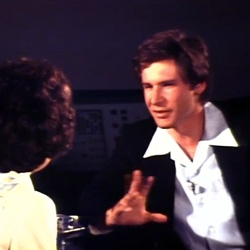 Harrison Ford is interviewed by the legendary NBC 5 reporter Bobbie Wygant, just after the premier of Star Wars in 1977.  A rare and really cool blast from the past!