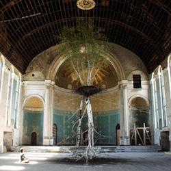 Shinji Turner-Yamamoto's Global Tree Project: Hanging Garden can now be seen in Cincinnati.
