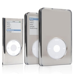 "These new mirrored chrome cases from Griffin are so reflective that the display on your iPod remains in ""stealth mode"" until you turn on the backlight."