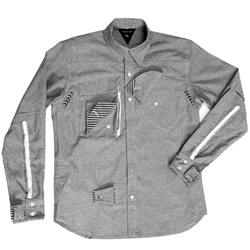 A modern twist on a timeless classic, the Urbaneering Workshirt from Serum Venom - great details.