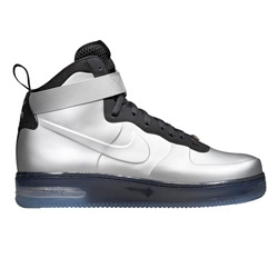 Nike has fused their iconic Air Force 1 with the Foamposite. The upper construction is just incredible and the look super futuristic.