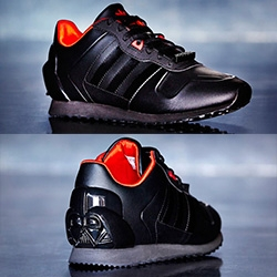 Adidas Star Wars Kids Originals S/S15 Collection has really fun Darth Vader Shoes.