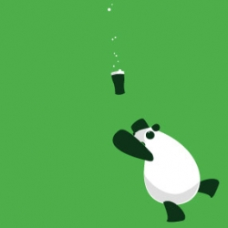 Irish Panda! Shirt by Scary Go Round